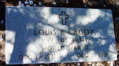 LAGOY, LOUIS E. - Yavapai County, Arizona | LOUIS E. LAGOY - Arizona Gravestone Photos