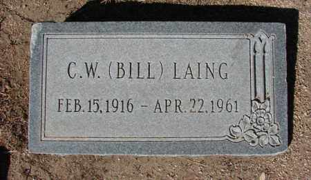 LAING, CHARLES WILLIAM STEPHENS (C.W.) - Yavapai County, Arizona | CHARLES WILLIAM STEPHENS (C.W.) LAING - Arizona Gravestone Photos