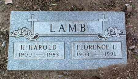 LAMB, FLORENCE LUCIA - Yavapai County, Arizona   FLORENCE LUCIA LAMB - Arizona Gravestone Photos