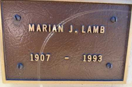 LAMB, MARIAN JANE - Yavapai County, Arizona | MARIAN JANE LAMB - Arizona Gravestone Photos
