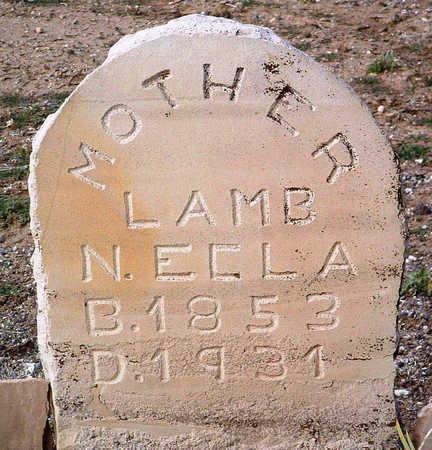 LAMB, NANCY ELLA - Yavapai County, Arizona | NANCY ELLA LAMB - Arizona Gravestone Photos