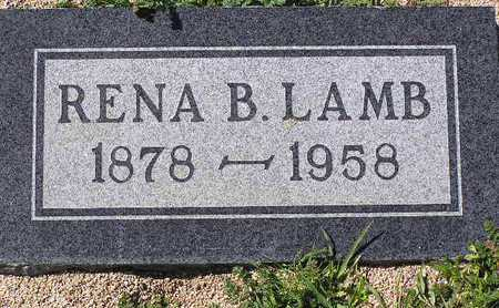LAMB, RENA BLANCH - Yavapai County, Arizona | RENA BLANCH LAMB - Arizona Gravestone Photos