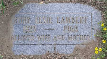 FEHL LAMBERT, RUBY ELSIE - Yavapai County, Arizona | RUBY ELSIE FEHL LAMBERT - Arizona Gravestone Photos