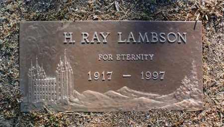 LAMBSON, HENRY RAY - Yavapai County, Arizona   HENRY RAY LAMBSON - Arizona Gravestone Photos