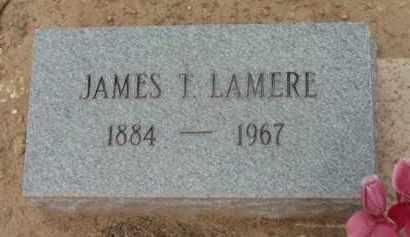 LAMERE, JAMES THEOPHILE - Yavapai County, Arizona   JAMES THEOPHILE LAMERE - Arizona Gravestone Photos