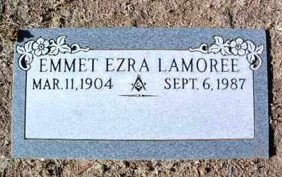 LAMOREE, EMMET EZRA - Yavapai County, Arizona   EMMET EZRA LAMOREE - Arizona Gravestone Photos