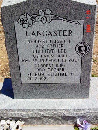 LANCASTER, FRIEDA ELIZABETH - Yavapai County, Arizona | FRIEDA ELIZABETH LANCASTER - Arizona Gravestone Photos