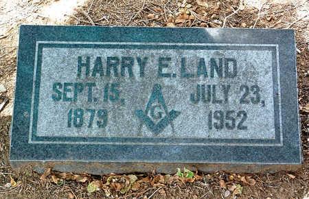 LAND, HARRY ERNEST - Yavapai County, Arizona | HARRY ERNEST LAND - Arizona Gravestone Photos