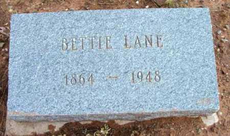 DASHIELL LANE, MARIA ELIZABETH (BETTIE) - Yavapai County, Arizona | MARIA ELIZABETH (BETTIE) DASHIELL LANE - Arizona Gravestone Photos