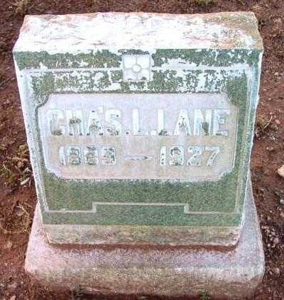 LANE, CHARLES L. - Yavapai County, Arizona | CHARLES L. LANE - Arizona Gravestone Photos
