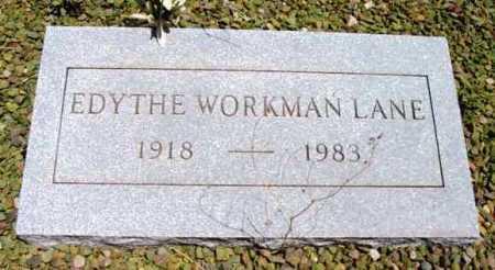 WORKMNA LANE, EDYTHE - Yavapai County, Arizona | EDYTHE WORKMNA LANE - Arizona Gravestone Photos