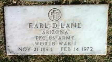 LANE, EARL DAVID - Yavapai County, Arizona | EARL DAVID LANE - Arizona Gravestone Photos