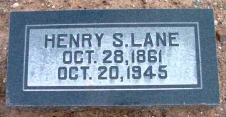LANE, HENRY SILAS - Yavapai County, Arizona | HENRY SILAS LANE - Arizona Gravestone Photos