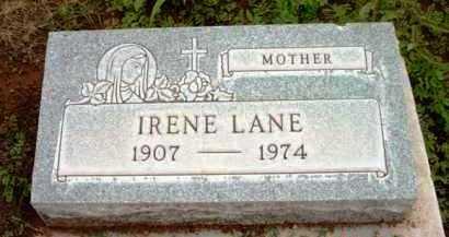 LANE, IRENE - Yavapai County, Arizona | IRENE LANE - Arizona Gravestone Photos