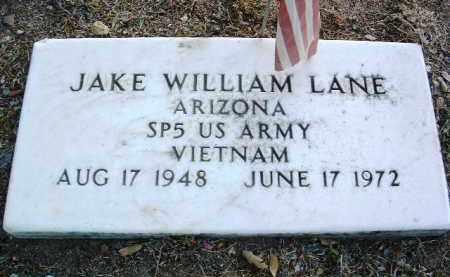 LANE, JAKE WILLIAM - Yavapai County, Arizona | JAKE WILLIAM LANE - Arizona Gravestone Photos