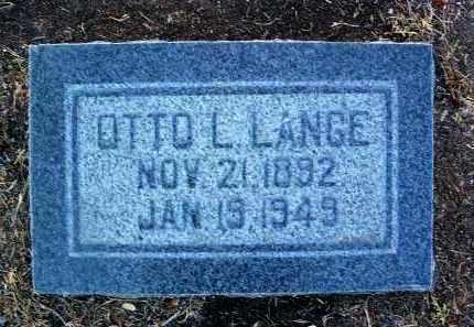 LANGE, OTTO LEBBENS - Yavapai County, Arizona | OTTO LEBBENS LANGE - Arizona Gravestone Photos