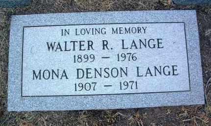 LANGE, WALTER RUDOLPH - Yavapai County, Arizona | WALTER RUDOLPH LANGE - Arizona Gravestone Photos