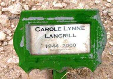 LANGRILL, CAROLE LYNNE - Yavapai County, Arizona | CAROLE LYNNE LANGRILL - Arizona Gravestone Photos