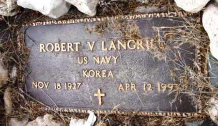 LANGRILL, ROBERT V. - Yavapai County, Arizona   ROBERT V. LANGRILL - Arizona Gravestone Photos
