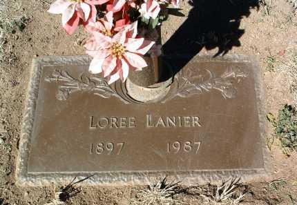 LANIER, MARTHA LOREE - Yavapai County, Arizona | MARTHA LOREE LANIER - Arizona Gravestone Photos
