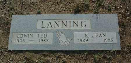 LANNING, EDWIN LEE (TED) - Yavapai County, Arizona | EDWIN LEE (TED) LANNING - Arizona Gravestone Photos