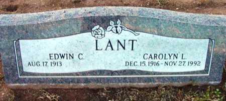 LANT, EDWIN C. - Yavapai County, Arizona | EDWIN C. LANT - Arizona Gravestone Photos