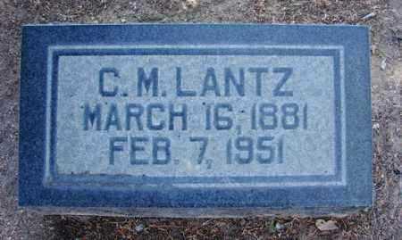 LANTZ, CREIGHTON MCLEAN - Yavapai County, Arizona | CREIGHTON MCLEAN LANTZ - Arizona Gravestone Photos