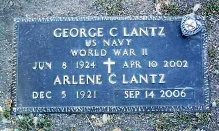 LANTZ, GEORGE CHARLES - Yavapai County, Arizona | GEORGE CHARLES LANTZ - Arizona Gravestone Photos