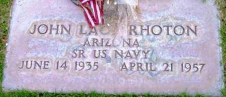 LAO???RHOTON, JOHN - Yavapai County, Arizona | JOHN LAO???RHOTON - Arizona Gravestone Photos