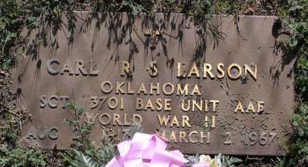 LARSON, CARL ROY S. - Yavapai County, Arizona | CARL ROY S. LARSON - Arizona Gravestone Photos