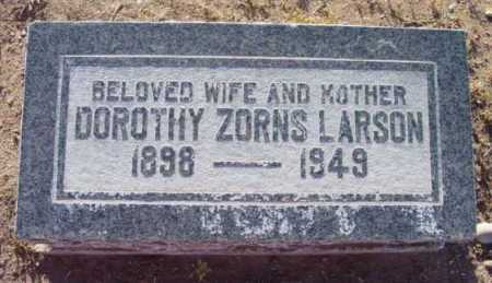 LARSON, DOROTHY ZORNS - Yavapai County, Arizona | DOROTHY ZORNS LARSON - Arizona Gravestone Photos