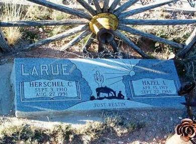 LARUE, HAZEL LOVELLA - Yavapai County, Arizona | HAZEL LOVELLA LARUE - Arizona Gravestone Photos