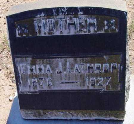 COULTAS LATHROP, EMMA J. - Yavapai County, Arizona | EMMA J. COULTAS LATHROP - Arizona Gravestone Photos