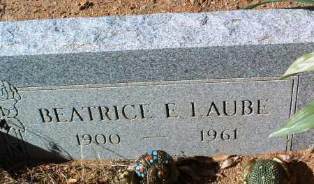 KELLY LAUBE, BEATRICE E. - Yavapai County, Arizona | BEATRICE E. KELLY LAUBE - Arizona Gravestone Photos