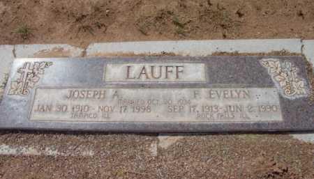 LAUFF, F. EVELYN - Yavapai County, Arizona | F. EVELYN LAUFF - Arizona Gravestone Photos
