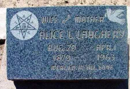 STEVENS LAUGHERY, ALICE L. - Yavapai County, Arizona | ALICE L. STEVENS LAUGHERY - Arizona Gravestone Photos