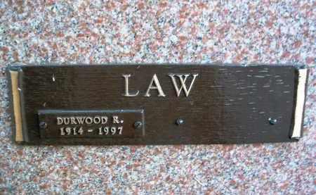LAW, DURWOOD R. - Yavapai County, Arizona | DURWOOD R. LAW - Arizona Gravestone Photos