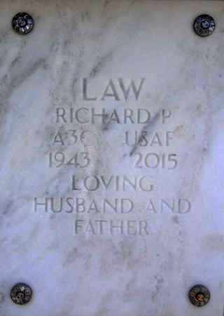 LAW, RICHARD PARKER - Yavapai County, Arizona | RICHARD PARKER LAW - Arizona Gravestone Photos