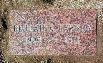 LAWSON, BEULAH ANN - Yavapai County, Arizona | BEULAH ANN LAWSON - Arizona Gravestone Photos