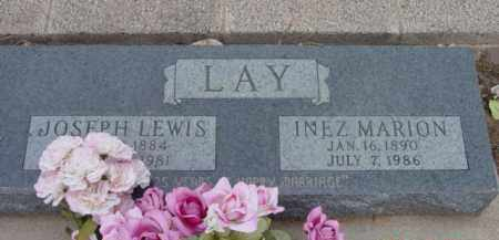 LOY LAY, INEZ MARION - Yavapai County, Arizona | INEZ MARION LOY LAY - Arizona Gravestone Photos