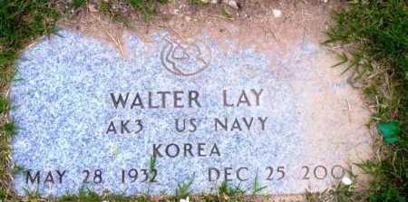 LAY, WALTER (BUCK) - Yavapai County, Arizona   WALTER (BUCK) LAY - Arizona Gravestone Photos