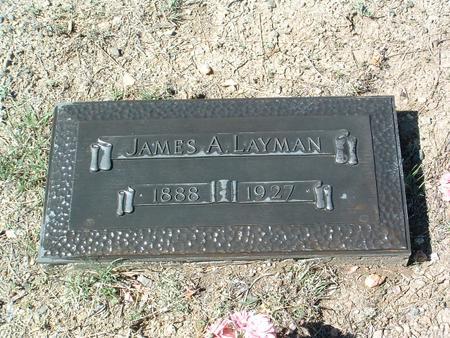 LAYMAN, JAMES AUGUST - Yavapai County, Arizona   JAMES AUGUST LAYMAN - Arizona Gravestone Photos