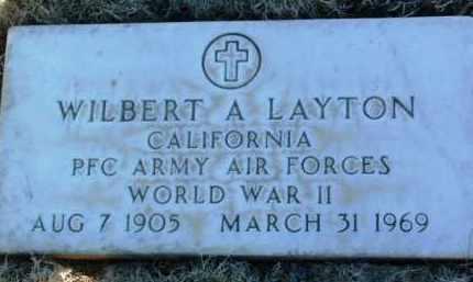 LAYTON, WILBERT CHARLES ALDEN - Yavapai County, Arizona   WILBERT CHARLES ALDEN LAYTON - Arizona Gravestone Photos