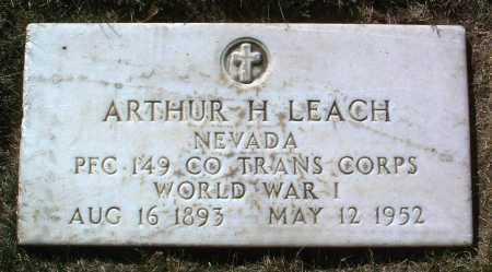 LEACH, ARTHUR HORTON - Yavapai County, Arizona | ARTHUR HORTON LEACH - Arizona Gravestone Photos