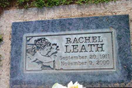 LEATH, RACHEL C. - Yavapai County, Arizona   RACHEL C. LEATH - Arizona Gravestone Photos