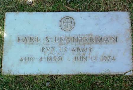LEATHERMAN, EARL SIEBENTHALER - Yavapai County, Arizona | EARL SIEBENTHALER LEATHERMAN - Arizona Gravestone Photos