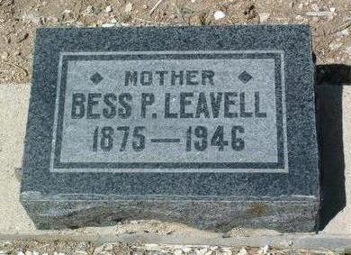PRIDE LEAVELL, BESSIE P. - Yavapai County, Arizona | BESSIE P. PRIDE LEAVELL - Arizona Gravestone Photos