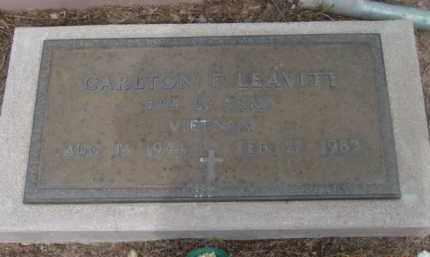 LEAVITT, CARLTON F. - Yavapai County, Arizona | CARLTON F. LEAVITT - Arizona Gravestone Photos