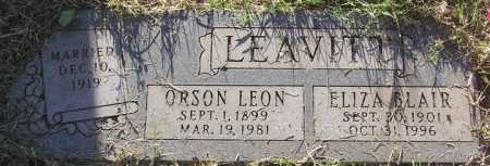 LEAVITT, ORSON LEON - Yavapai County, Arizona | ORSON LEON LEAVITT - Arizona Gravestone Photos