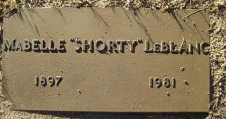 PYKE LEBLANC, MABELLE (SHORTY) - Yavapai County, Arizona | MABELLE (SHORTY) PYKE LEBLANC - Arizona Gravestone Photos